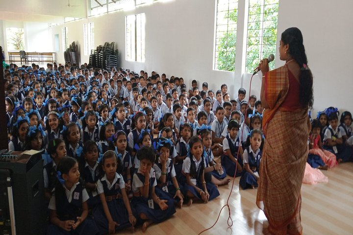 Saraswathy Vidya Niketan-Speech
