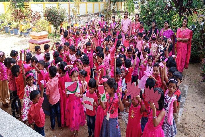 Saraswathy Vidya Niketan-Pink Day