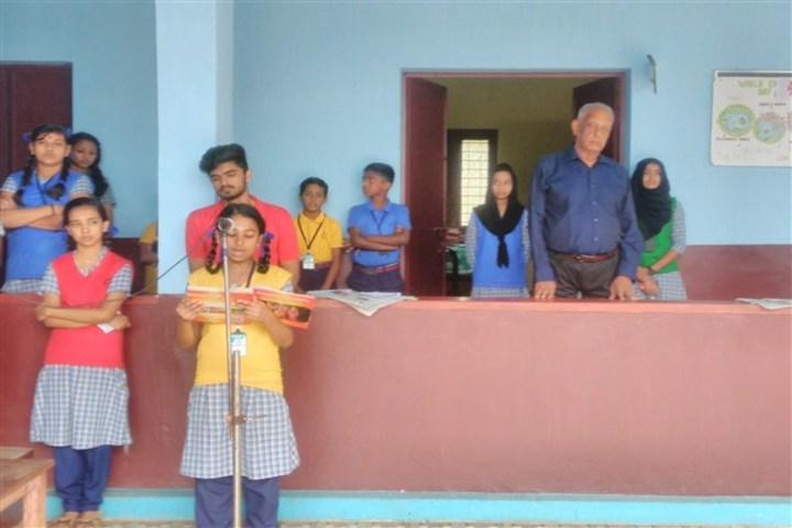 Saraswathy Vidya Niketan School-Singing