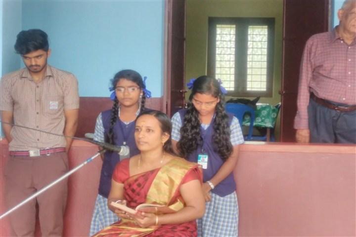 Saraswathy Vidya Niketan School-Speech