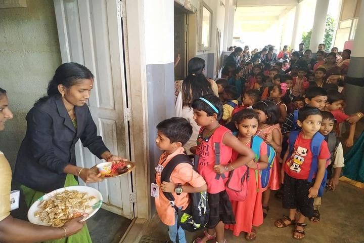 Saraswathy Vidya Peetham School-Food Festival