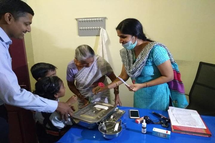 Saraswathy Vidya Peetham School-Medical Checkup