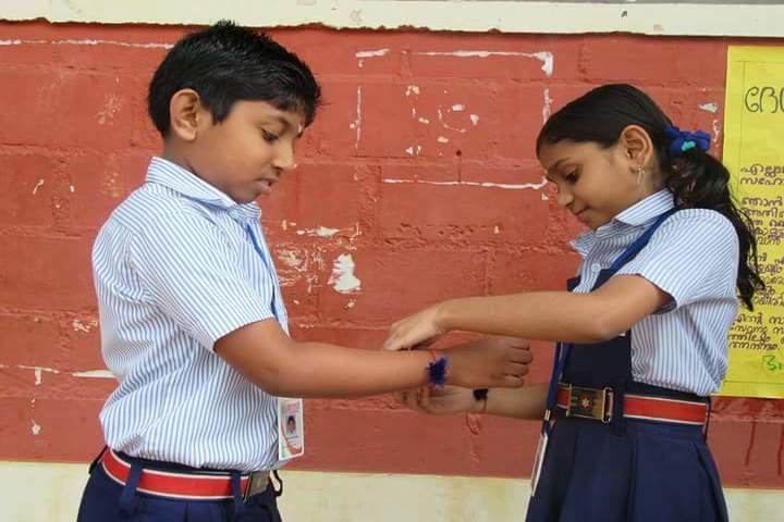 Saraswathy Vidya Peetham School-Rakhi Celabrations