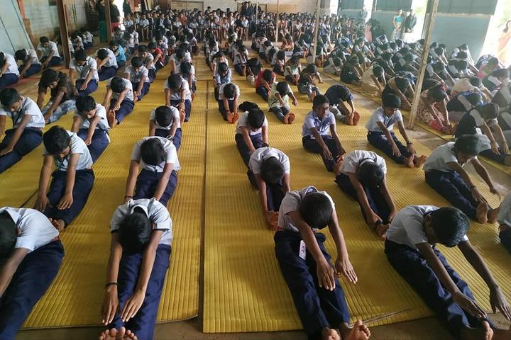 Saraswathy Vidya Peetham School-Yoga