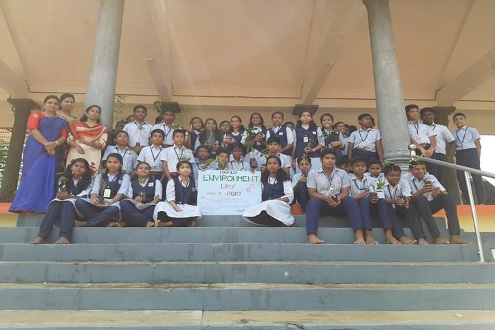 Saraswathy Vidyanikethan School-Envinorment Day