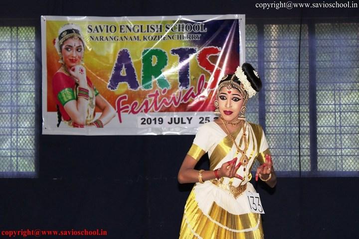 Savio English School-Art Festival