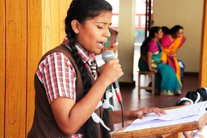 Savio English School-Singing
