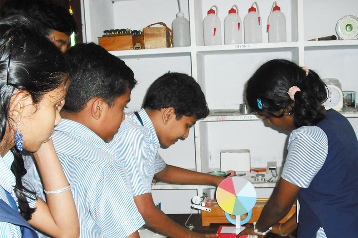 Shree Vidyadhiraja Seva Mission School-Science-Lab