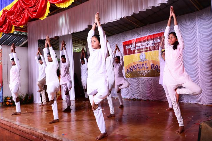 Shree Vidyadhiraja Seva Mission School-Yoga