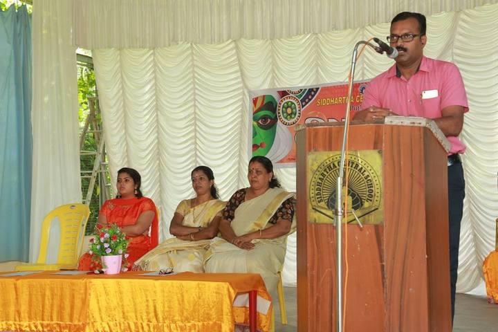 Siddhartha Central School-Speech