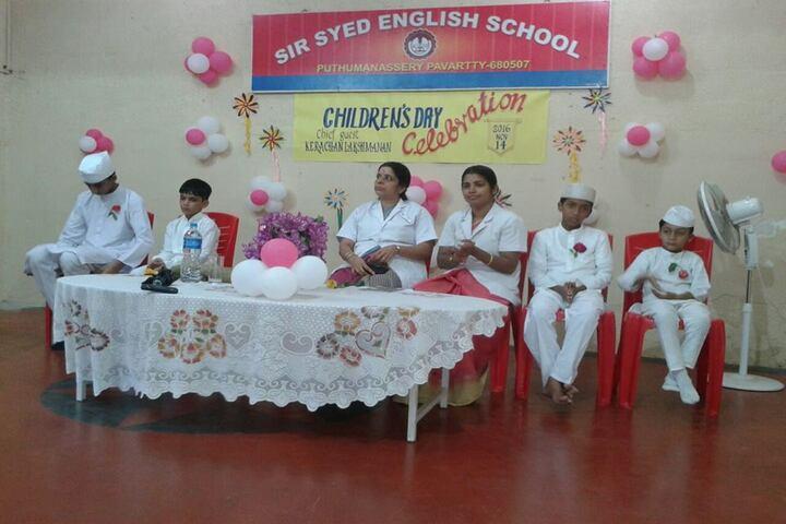 Sir Syed English School-Childrens Day