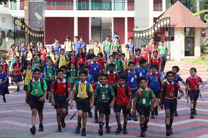 Sobhana Public School-Campus Entrance