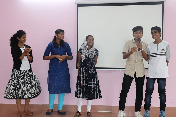 Sobhana Public School-Group Singing