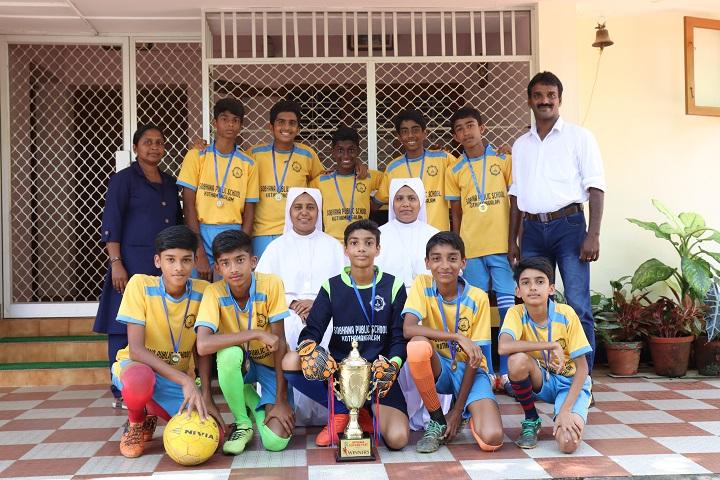 Sobhana Public School-Sports Winner