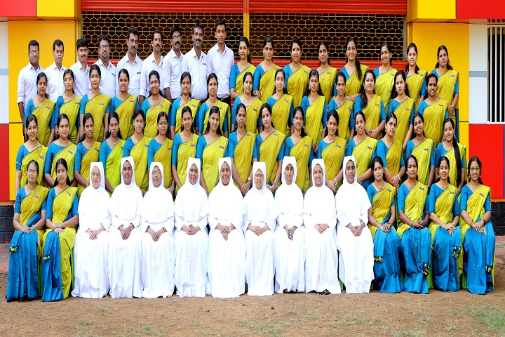 Sobhana Public School-Staff Group Photo