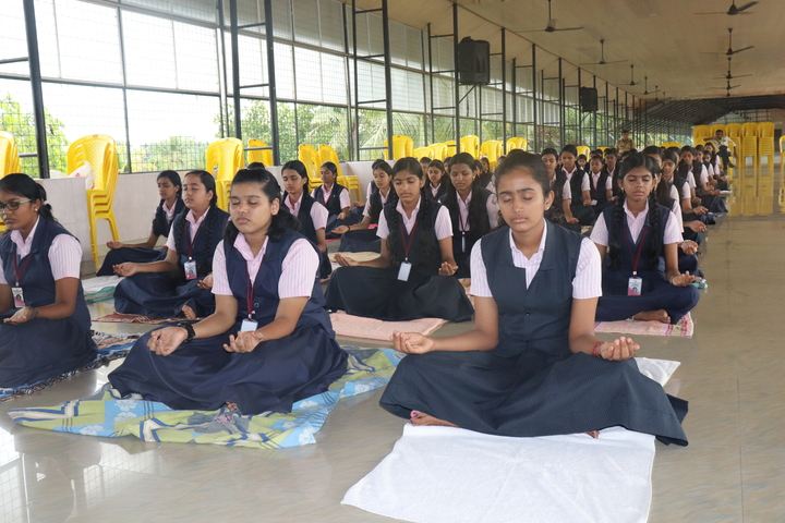 Sobhana Public School-Yoga Day