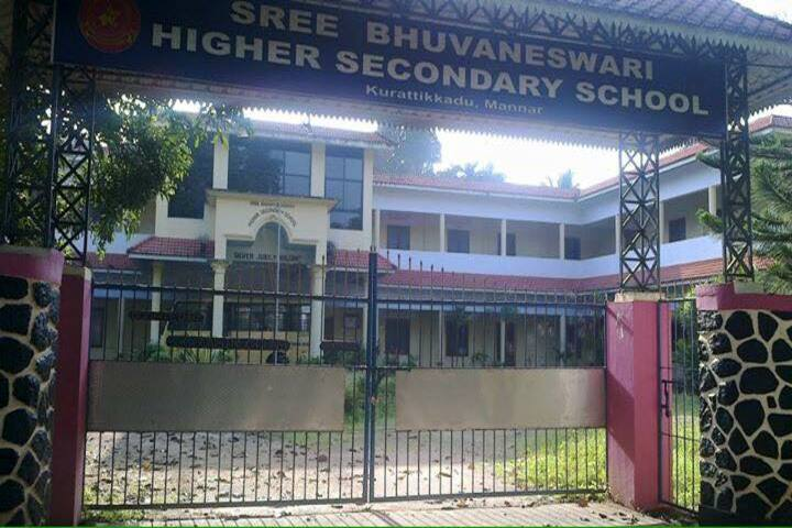Sree Bhuvaneswari English Medium High School-Gate