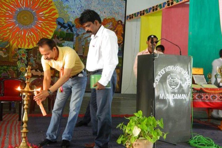 Jawahar Navodaya Vidyalaya-Candle Lightening