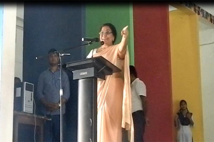 Jawahar Navodaya Vidyalaya-Principal Speech