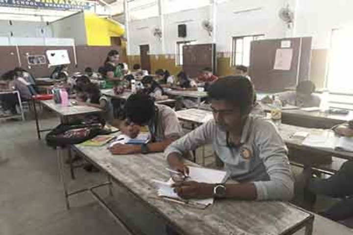 Sree Maharshi Vidyalaya School-Class Room