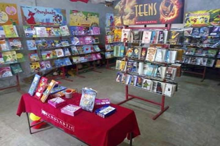 Sree Maharshi Vidyalaya School-Kids Library