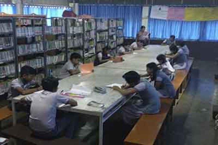 Sree Maharshi Vidyalaya School-Library