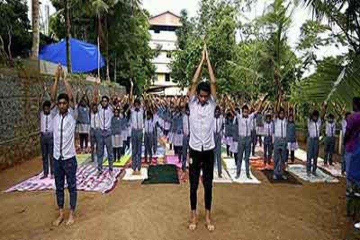 Sree Maharshi Vidyalaya School-Yoga Day
