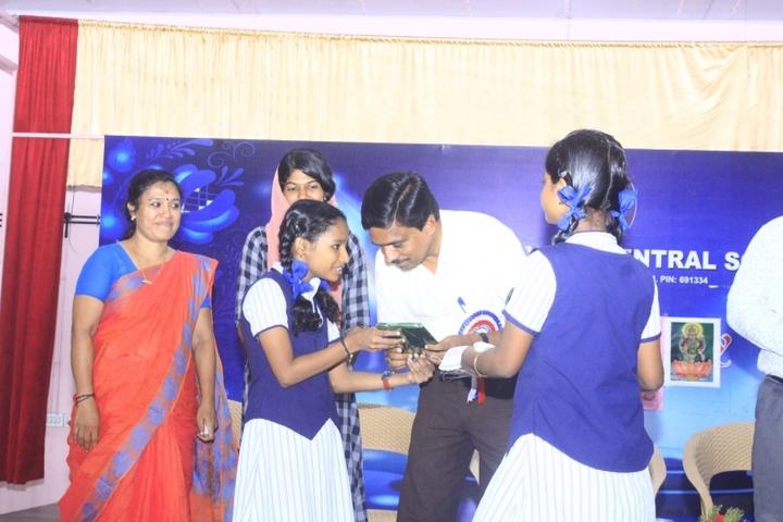 Sree Narayana Central School-Awards