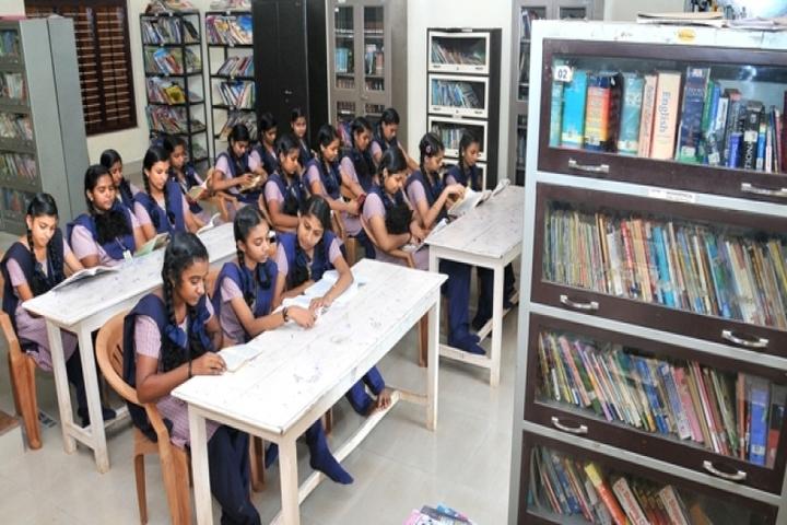 Sree Narayana Central School-Library