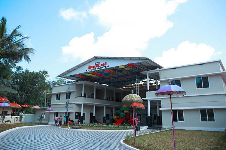 Sree Narayana Guru Memorial Central School-Campus View
