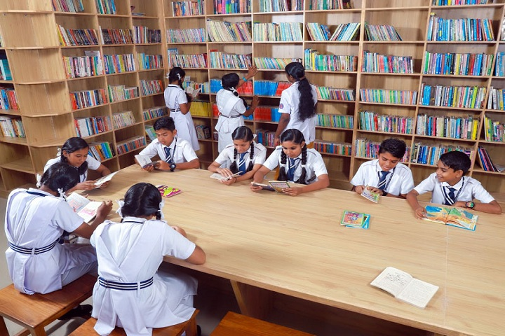 Sree Narayana Guru Memorial Central School-Library
