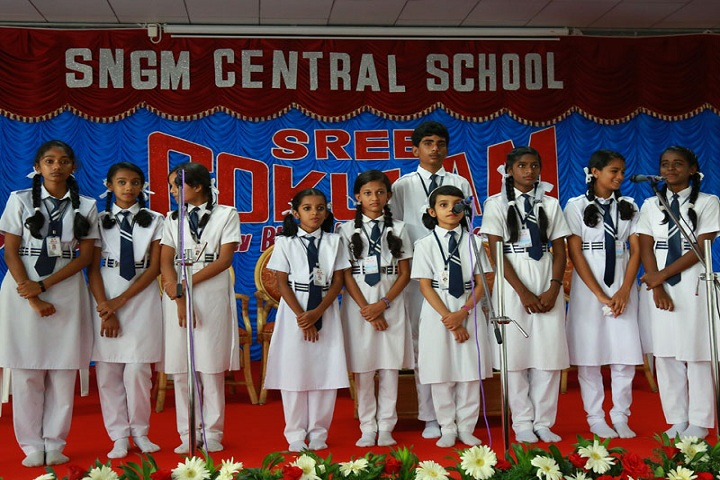 Sree Narayana Guru Memorial Central School-Singing