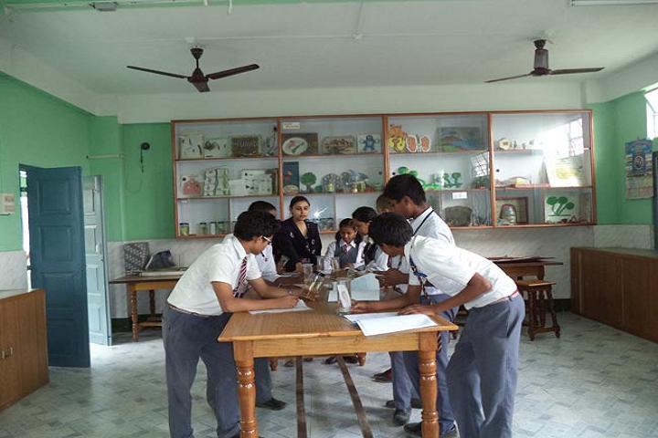 Saint Capitanio School- Biology Lab