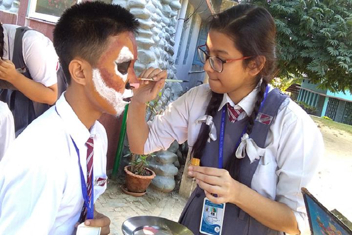 Saint Capitanio School- Face Painting