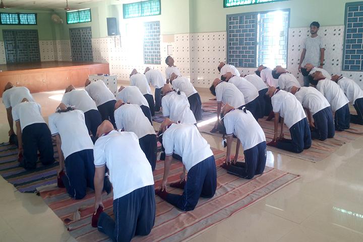 Saint Capitanio School- Yoga