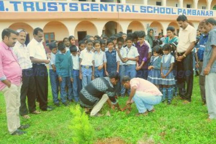Sree Narayana Trusts Central School-Plantation Day