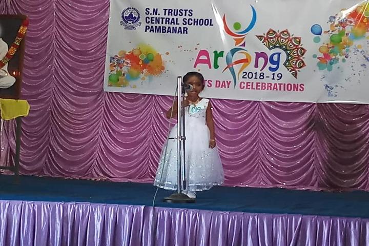 Sree Narayana Trusts Central School-Singing Activity