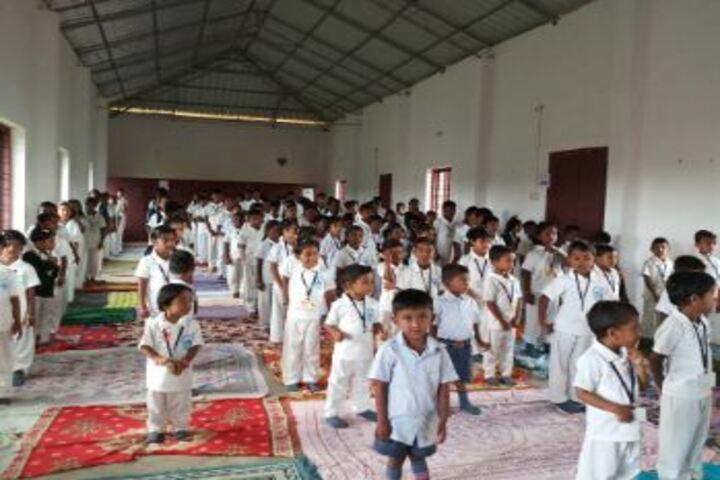 Sree Narayana Trusts Central School-Yoga Day