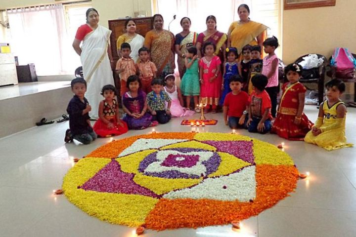 Sree Narayana Vidya Mandir Senior Secondary School-Floral Carpet Competition