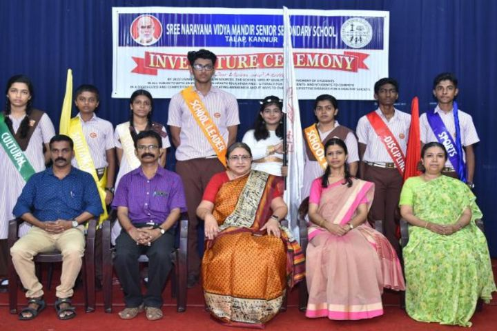 Sree Narayana Vidya Mandir Senior Secondary School-Investiture Ceremony