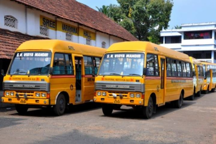 Sree Narayana Vidya Mandir Senior Secondary School-Transport