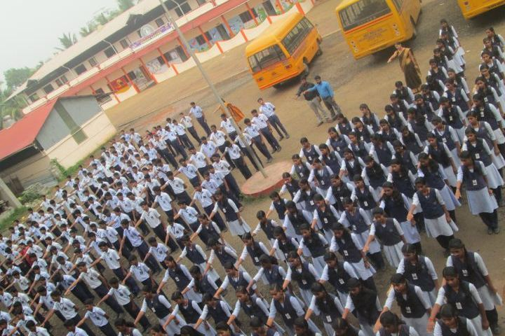 Sree Narayana Vidyapeetam Public School-Assembly