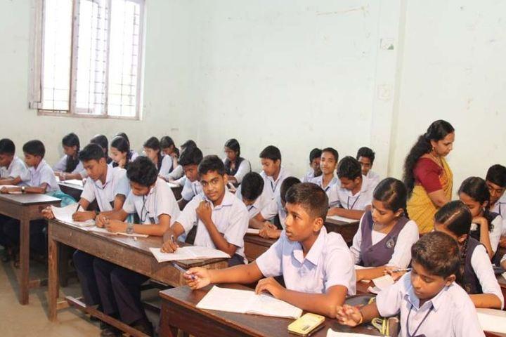 Sree Narayana Vidyapeetam Public School-Classroom