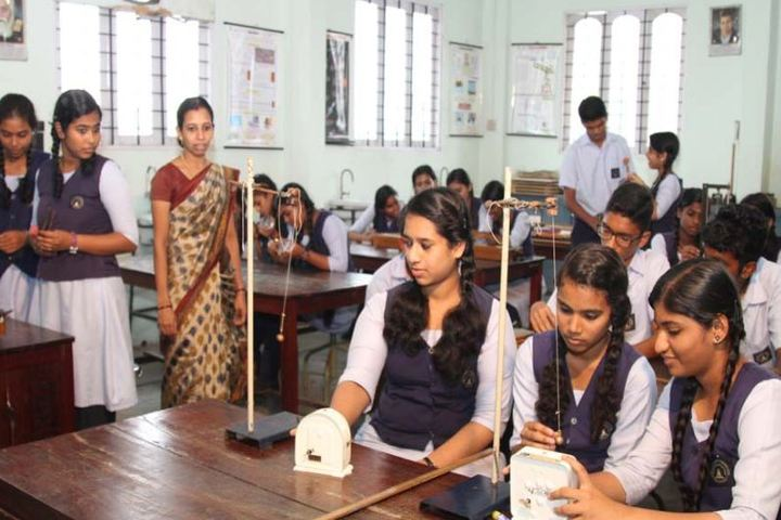 Sree Narayana Vidyapeetam Public School-Physics Lab