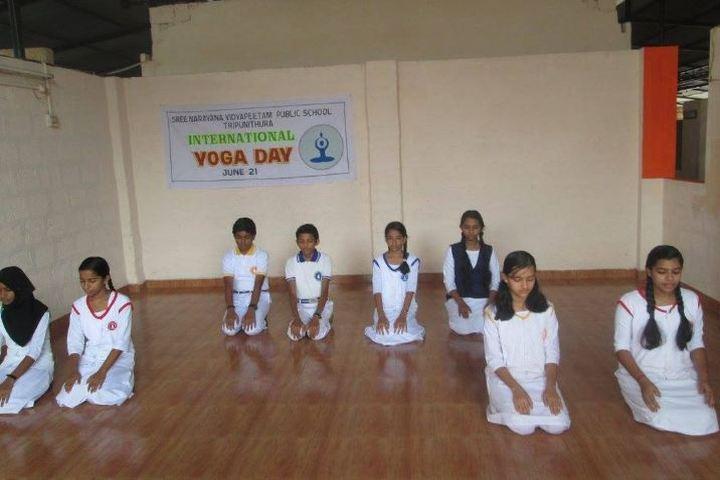 Sree Narayana Vidyapeetam Public School-Yoga