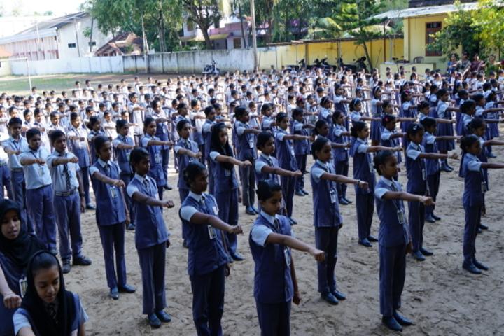 Sree Raja Rajeswari English Medium School-Assembly
