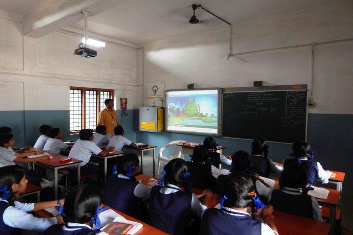 Sree Ramakrishna Vidyanikethan Public School-Classroom