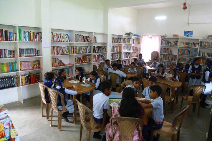 Sree Ramakrishna Vidyanikethan Public School-Library