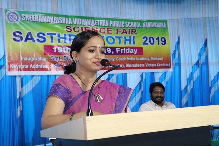 Sree Ramakrishna Vidyanikethan Public School-Science Fair