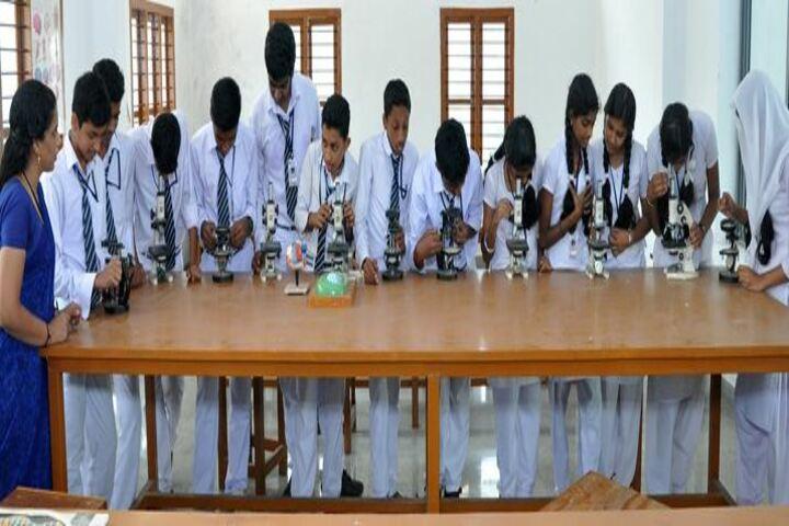 Sree Sabari Central School-Physics Lab